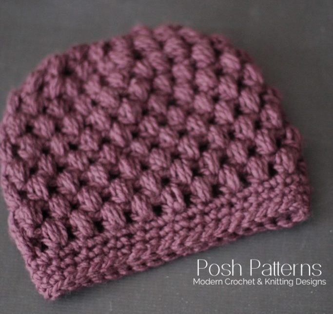 2018 Update: The Best Free Crochet Ponytail Hat Patterns (aka Messy Bun Beanies) – Still a Popular Trend This Year!