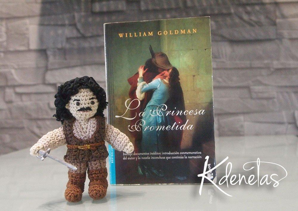 She Crocheted an Inigo Montoya Amigurumi From The Princess Bride
