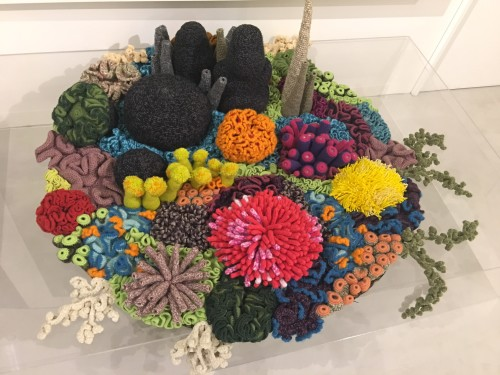 The Colorful Coral Islands of Crochet Artist Mulyana