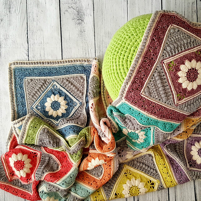 Love Vintage? Crochet a Vibrant Charlotte's Dream Blanket … Free Pattern With Heirloom Potential!