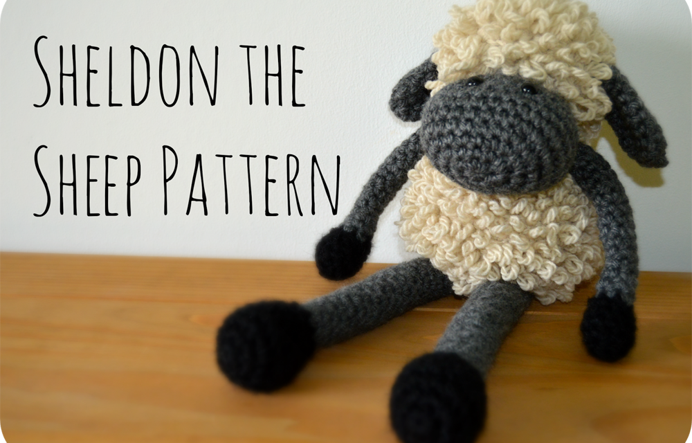 Crochet a Sheldon The Sheep … Free Pattern!