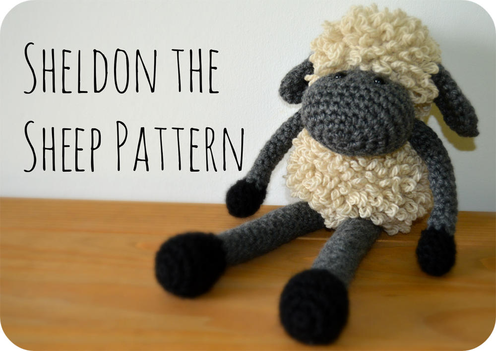Crochet a Sheldon The Sheep ... Get the Free Pattern!