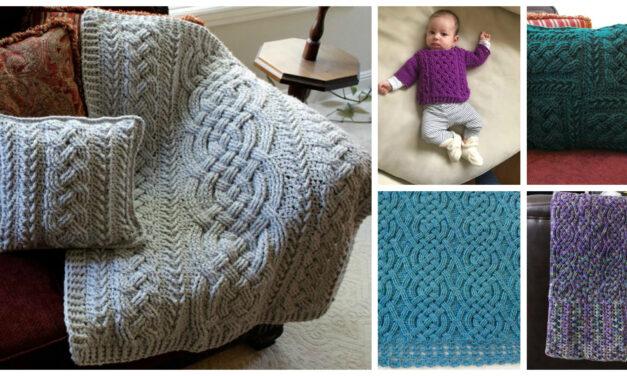 Designer Spotlight: Celtic & Aran Style Cable Crochet Patterns From Rebecca's Stylings