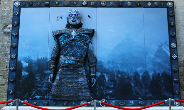 Mega, Very Big, Oh So Vast, Game Of Thrones Embroidery – It's The Night King!