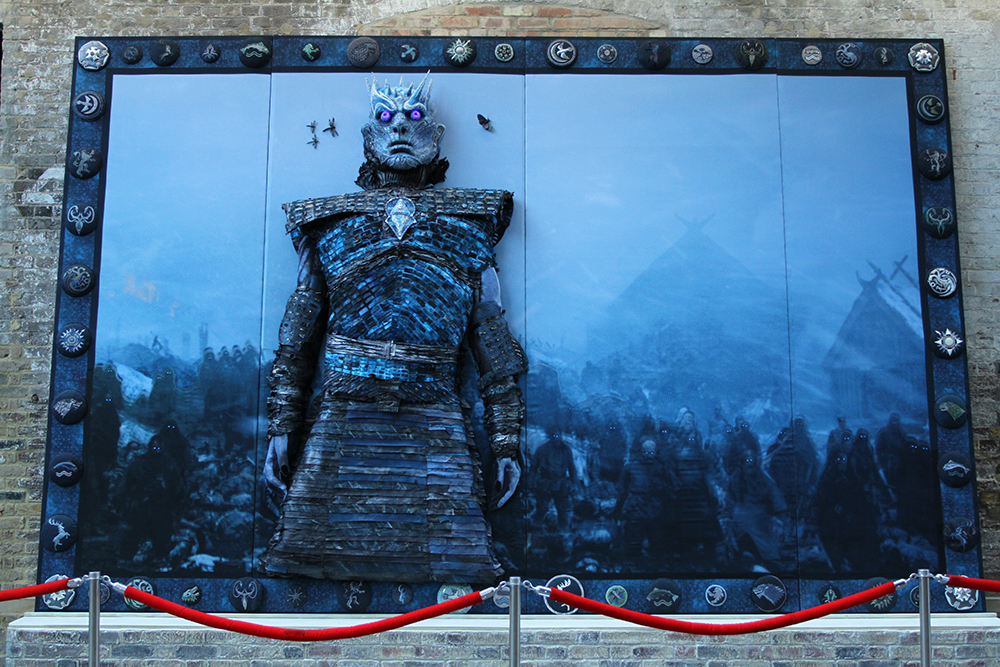 Mega, Very Big, Oh So Vast, Game Of Thrones Embroidery - It's The Night King!