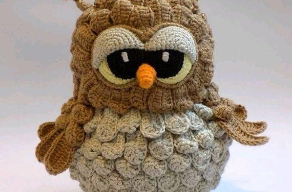 Hoot, Hoot … Is This The Cutest Crochet Owl Amigurumi Pattern Ever?