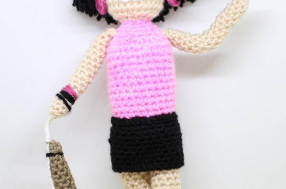 Crochet Freddie Mercury Amigurumi Inspired By The I Want To Break Free Video