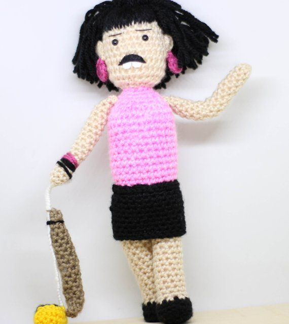 Crochet Freddie Mercury Amigurumi Inspired By The I Want To Break Free Video