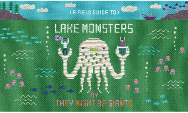 'Lake Monsters' – Check Out This New They Might Be Giants Video By Fiber Artist Hiné Mizushima