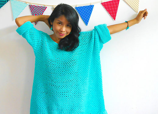 Crocheters Who Love The Knit-Look Will Adore This Oversized, Super-Stylish Sweater … Free Pattern!