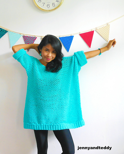 Crocheters Who Love The Knit-Look Will Adore This Oversized, Super-Stylish Sweater ... Free Pattern!