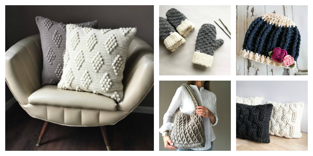 Designer Spotlight: Contemporary Crochet Patterns From Ruby Webbs – Crochet Cables Galore!