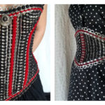 Use Soda Pop Tabs To Make a Gorgeous Gusseted Corset or a Waist Cincher … 'Tabistry' Is Your Guide!