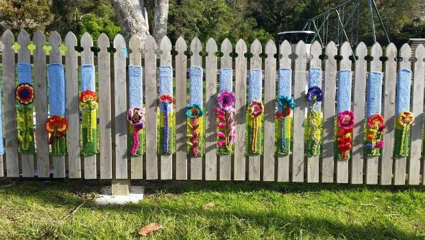 The Bayview Yarn Bombers Bring a New Style To Their Creations
