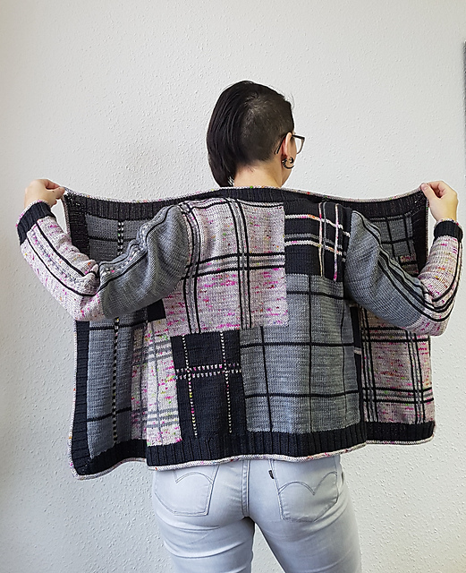 You've Never Seen a Knit Tartan Sweater as Unique As This ... So Impressive Looking!