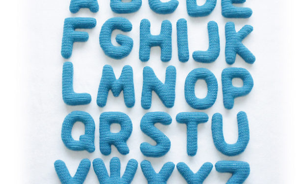 Crochet a Soft Alphabet With This Great Pattern Collection!