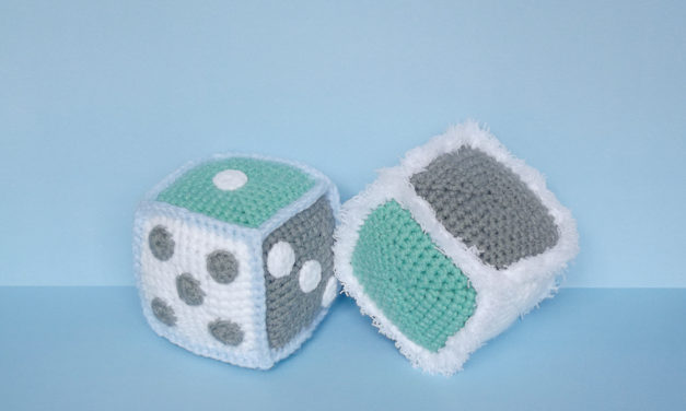 Crochet a Pair of Fuzzy Dice Designed For The 21st Century Maker – FREE Pattern Alert!