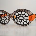 Crochet a Pair of Spiderweb Eyeglasses for Halloween Cosplay … Great DIY Idea!