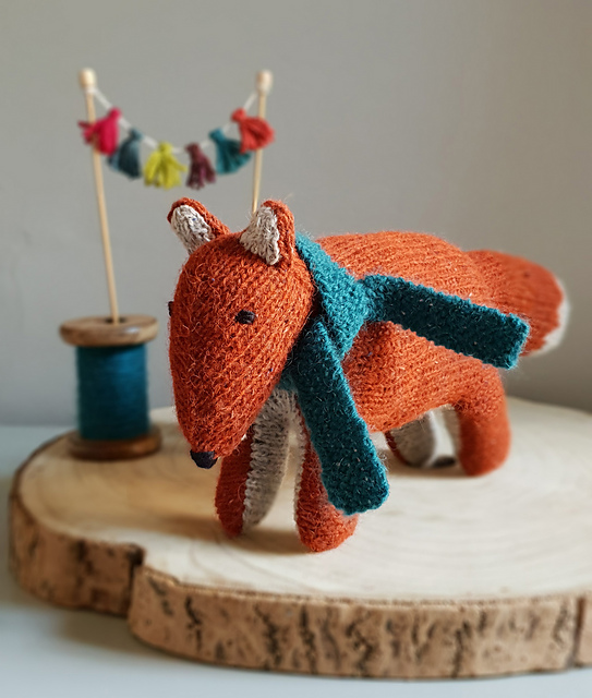 Handsome Frank the Fox Needs You To Knit Him Up Real Quick!