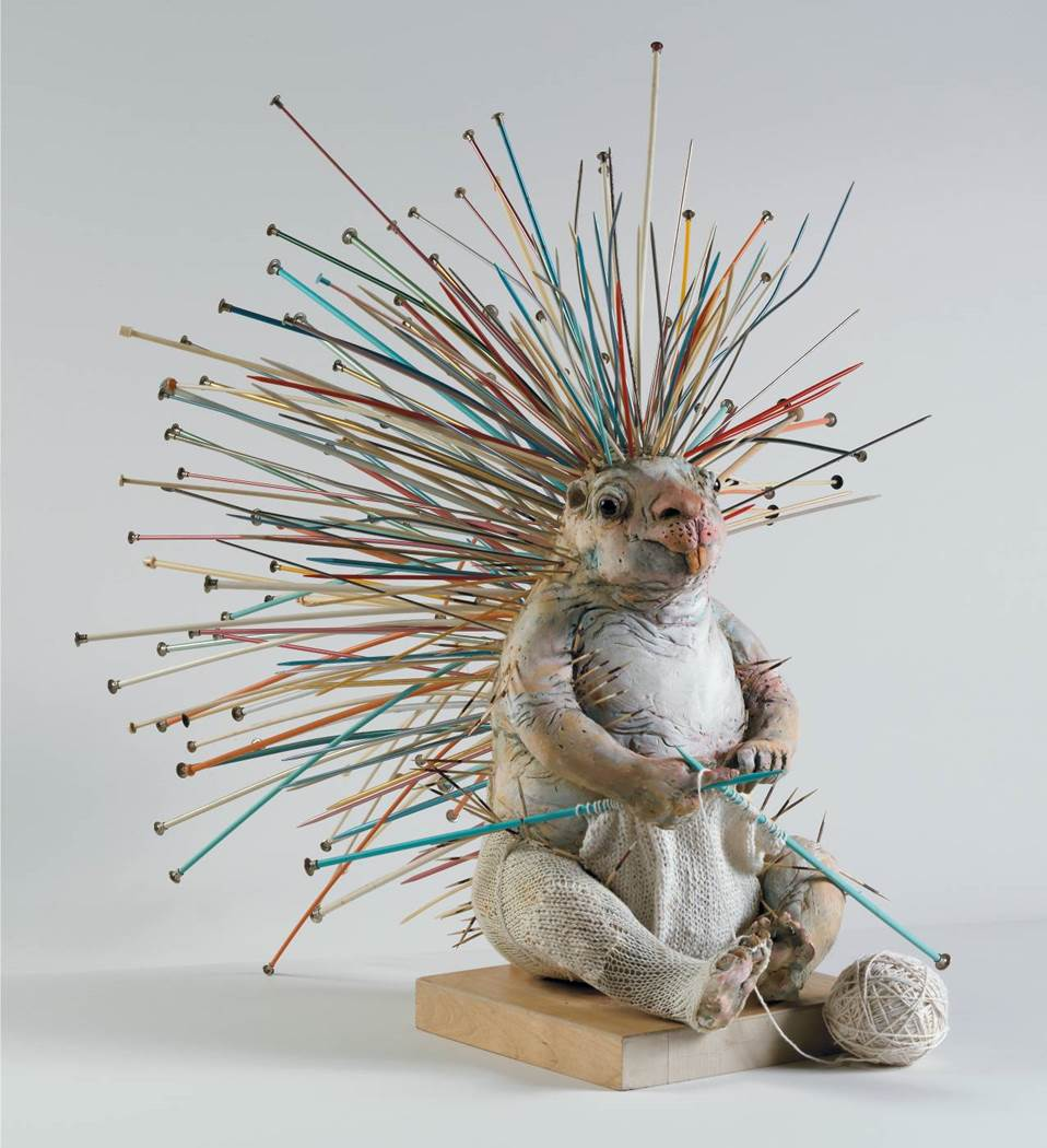 Have You Ever Seen a Porcupine Knitting? Self-Sufficient By Lois Hennessey