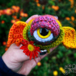 Crochet an Eyeball Monster Amigurumi – So Many Variations, Add Wings, Tentacles, Horns and More!