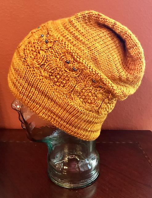 Free Pattern Alert Knit An Owl Slouchie Hat Knithacker