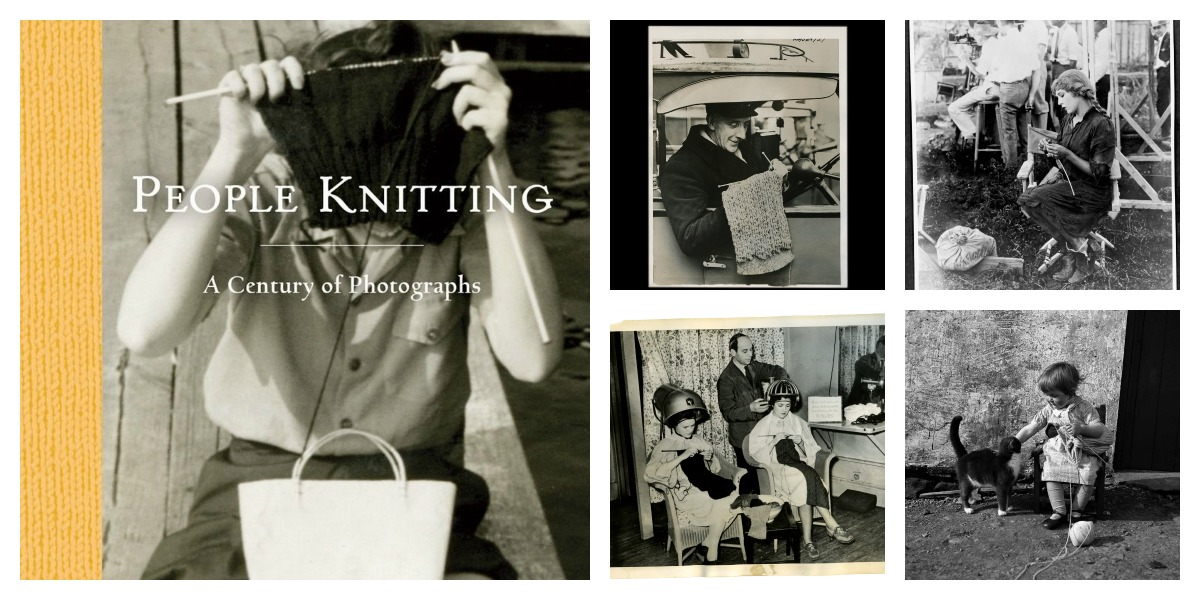 Gifts For Knitters: 'People Knitting: A Century of Photographs'