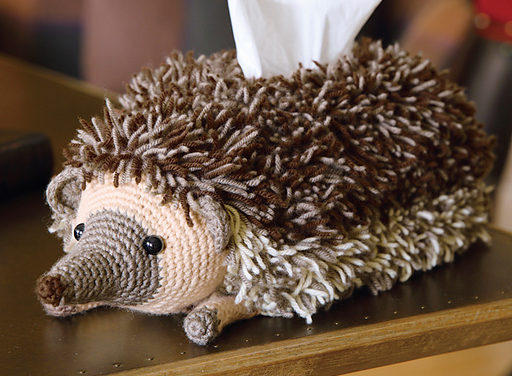 This Hedgehog Tissue Cover is Hilarious and Adorable! Get the Crochet Pattern Free …