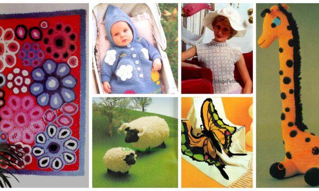 Designer Spotlight: Retro Crochet … Take a Trip Down Memory Lane and Crochet Up Some Vintage Fabulousness