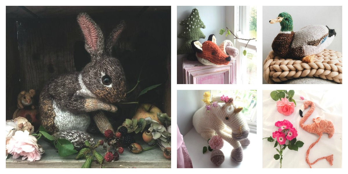 Designer Spotlight: Claire Garland's Sophisticated Knitted Creatures – Bunnies, Mallards, Foxes and More
