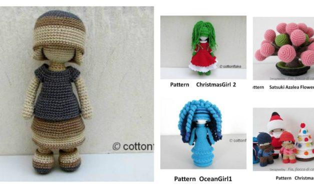Designer Spotlight: Amigurumi Doll Patterns By Crochet Artist Cottonflake