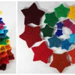 Knit a Colorful Christmas Tree With Frankie Brown's Spectacular Stacking Stars – FREE Pattern!