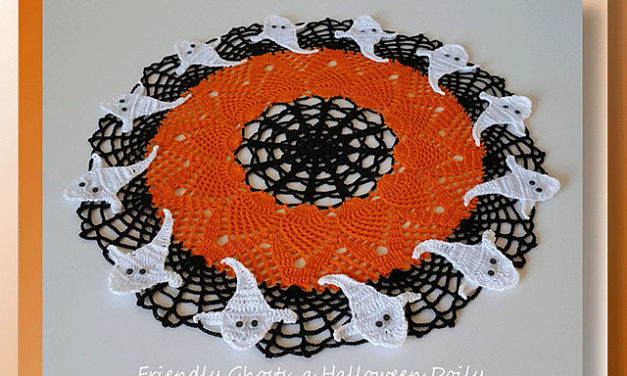 The Coolest Halloween Doily Every … Perfect Ornamental Mat For Your Candy Bowl