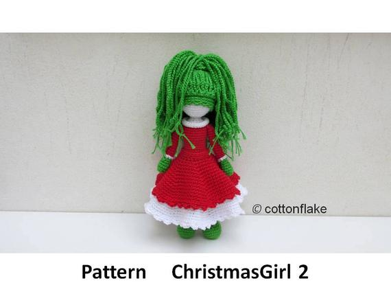 Get the pattern from crochet amigurumi designer cottonflake