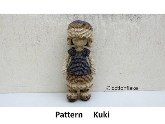 Get the pattern from crochet amigurumi designer cottonflake