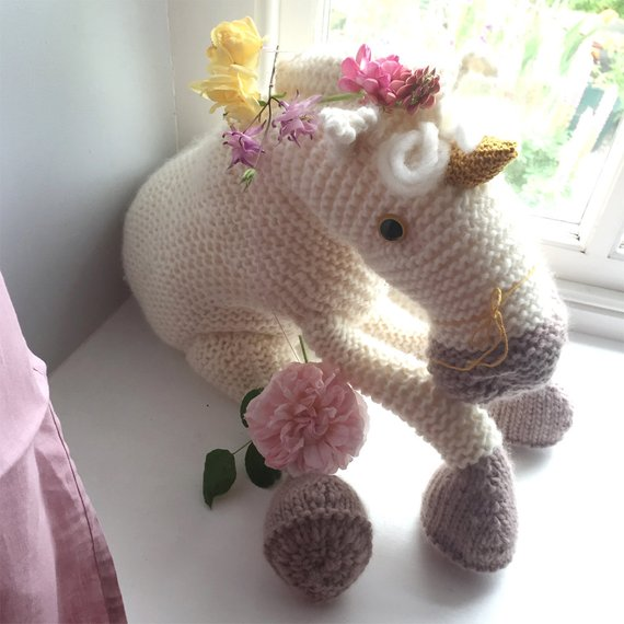 Get the pattern from Claire Garland's Dot Pebbles Knitted Creatures collection