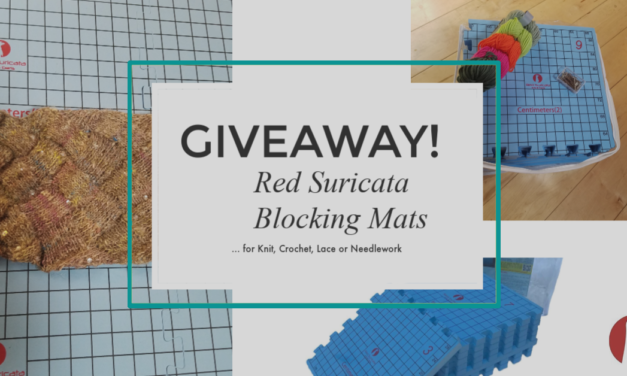 Special Giveaway For KnitHacker Readers: Red Suricata Blocking Mats – Blocking Matters, These Are Great!