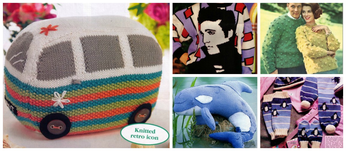 Designer Spotlight: Retro Knits … Take a Trip Down Memory Lane and Knit Up Some Vintage Fabulousness