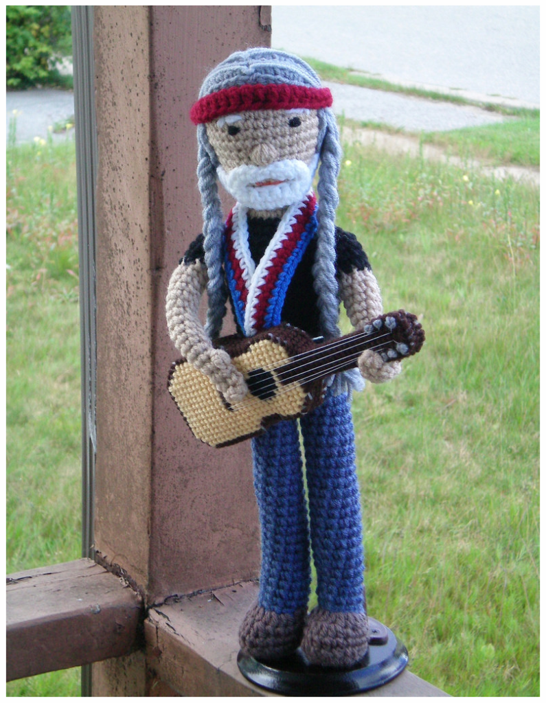 This Willie Nelson Amigurumi is a Winner!
