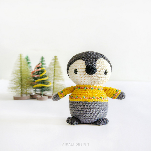 Amigurumi Penguin - FREE Crochet Pattern / Tutorial | Crochet ... | 640x640