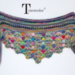 Looking For Knit-Inspiration? Check Out This Creative Shawl Designed By Hélène Seners aka Tricotcolor