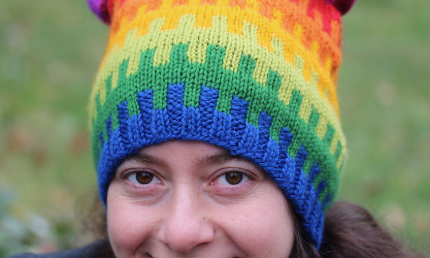 Free Rainbow Pussyhat Pattern, What a Great-Looking Hat!