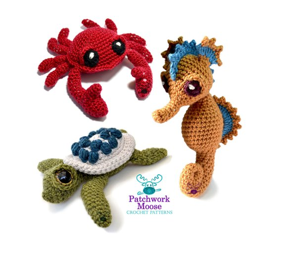 Get the Crochet Amigurumi Patterns and Designs By Patchwork Moose