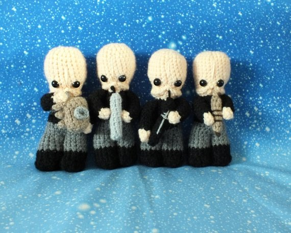 She Crocheted the Cantina Band From Star Wars!