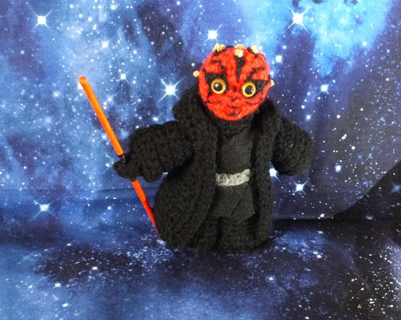 Get the Star Wars amigurumi from PamCraftUK