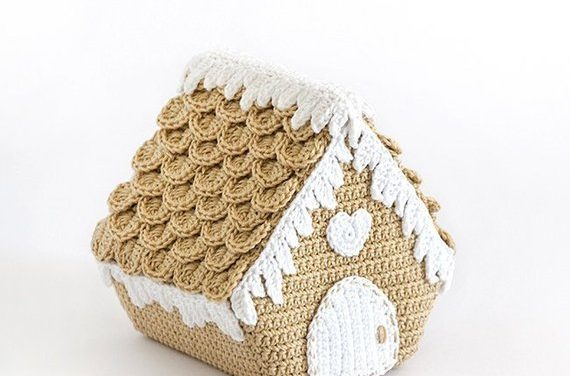 Crochet a Nordic Gingerbread House Designed By Ilaria Caliri … Plus Bonus Christmas Amigurumi Patterns!