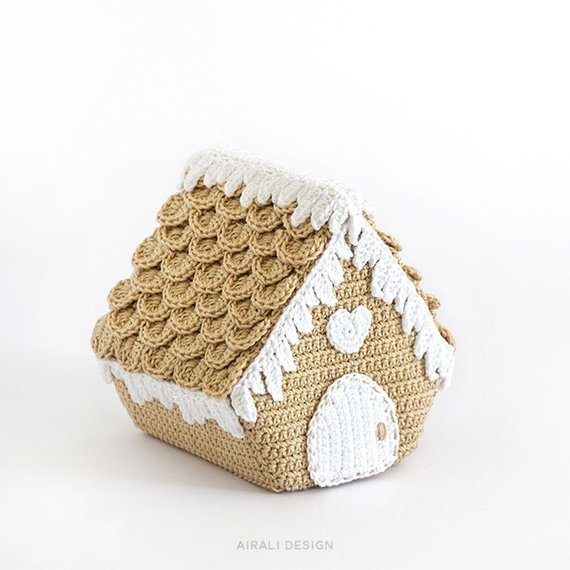 Crochet a Nordic Gingerbread House Designed By Ilaria Caliri