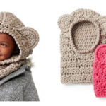Crochet a Cute Bear Hood With This Free Pattern From Yarnspirations Design Studio