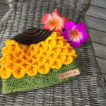 This Sunflower Hat Is Adorable, I Want To Make Eight Of Them … Oh, And Is That The Crocodile Stitch I See?