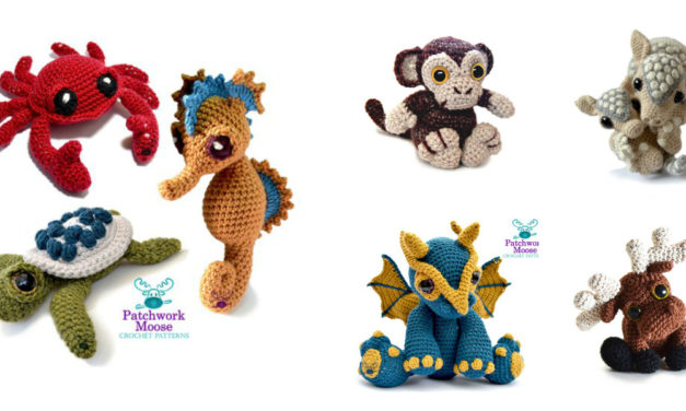 Designer Spotlight: Crochet Amigurumi Patterns and Designs By Patchwork Moose